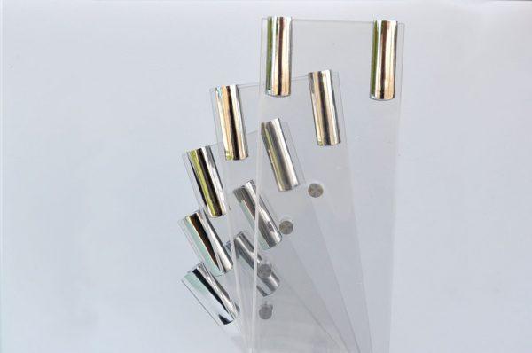 Portacoltelli in plexiglass per 5 coltelli